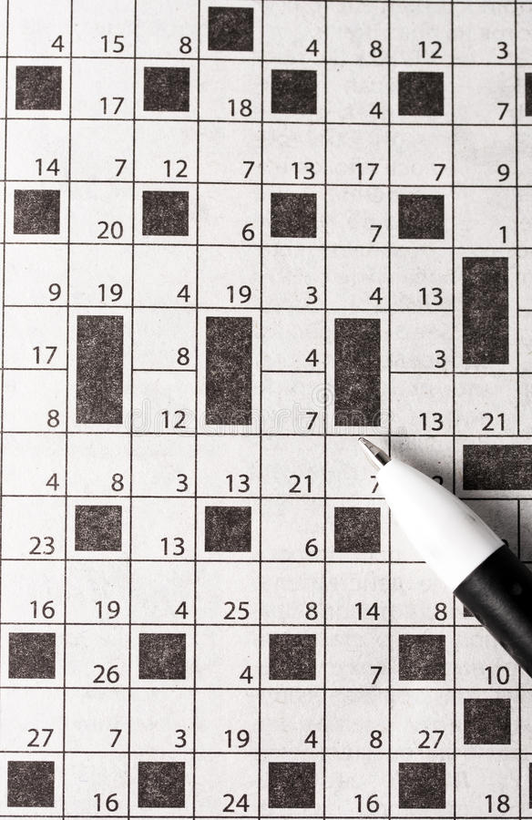 Download Crossword stock image. Image of discovery, idea, steps - 25204765