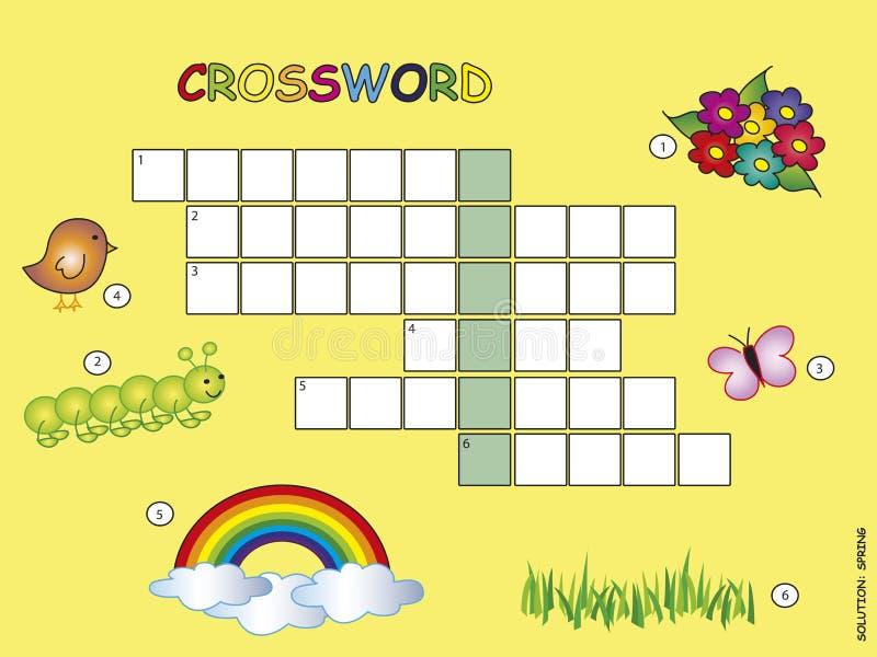 Crossword royalty ilustracja