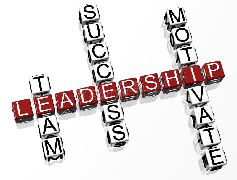 crossword przywódctwo obrazy stock