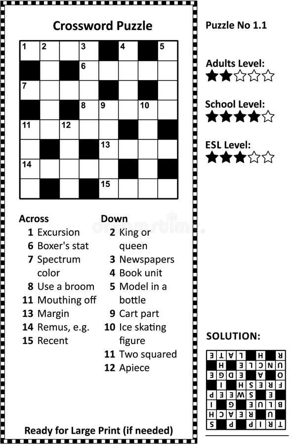 Crossword Grid Stock Illustrations 845 Crossword Grid Stock Illustrations Vectors Clipart Dreamstime