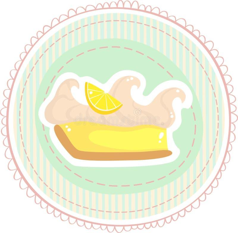 Crostata del limone royalty illustrazione gratis