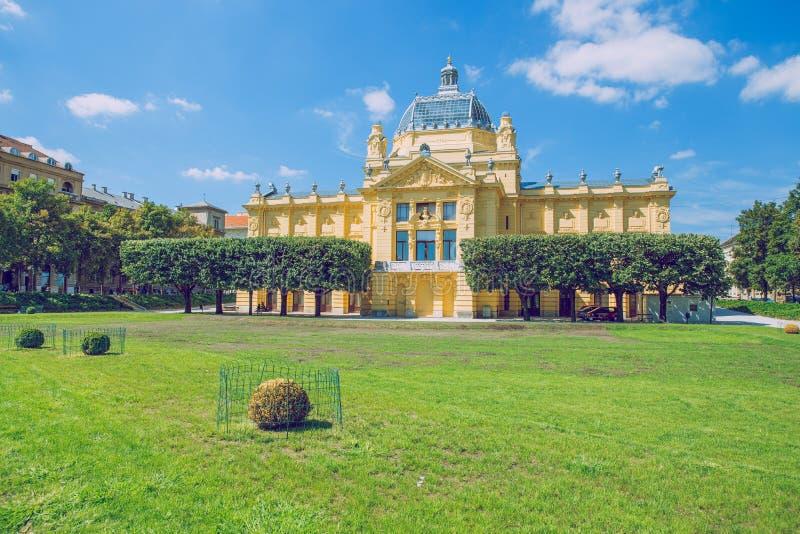 Crotia, città Zagabria immagini stock libere da diritti