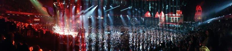 Croud de concert photos stock