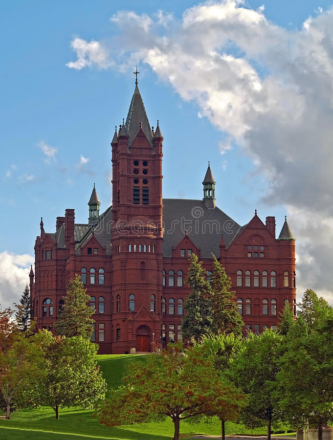 Crouse college of fine arts at syracuse university stock photography