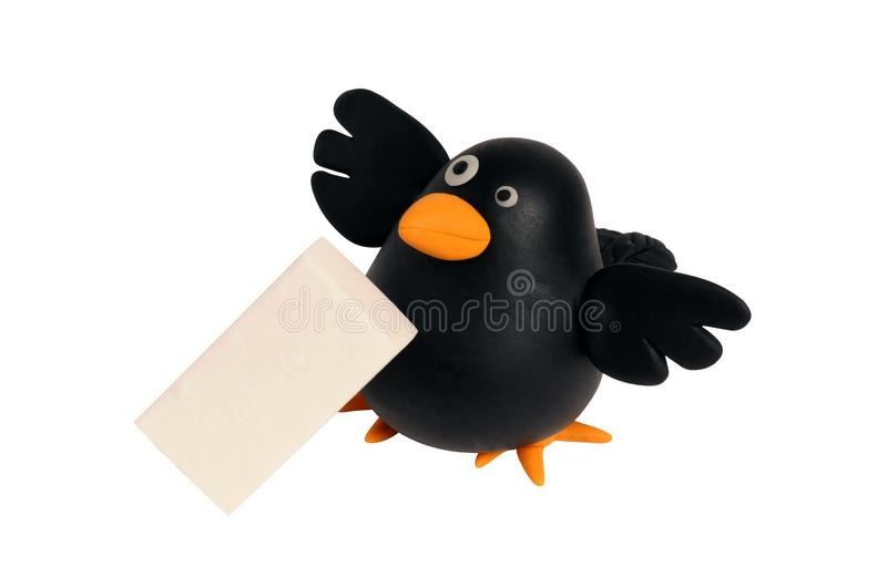 Download Crow stock illustration. Illustration of delete, wrong - 23883522