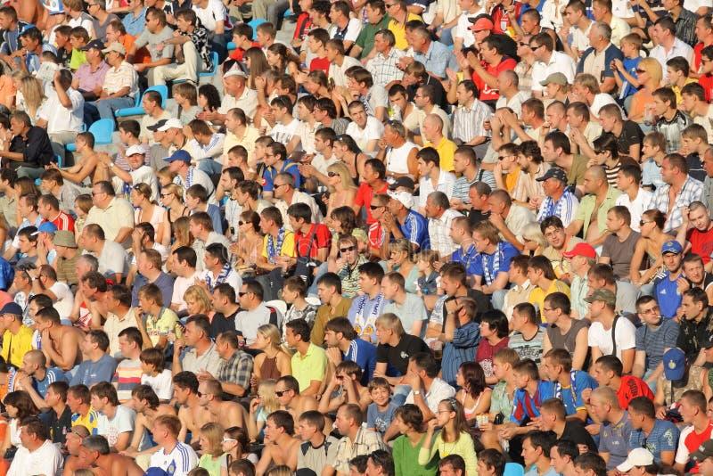 Crowd Editorial Stock Image