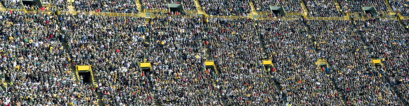 Download Crowd, Fans, And People In Sports Stadium, Banner Editorial Stock Image - Image of sporting, event: 27499749
