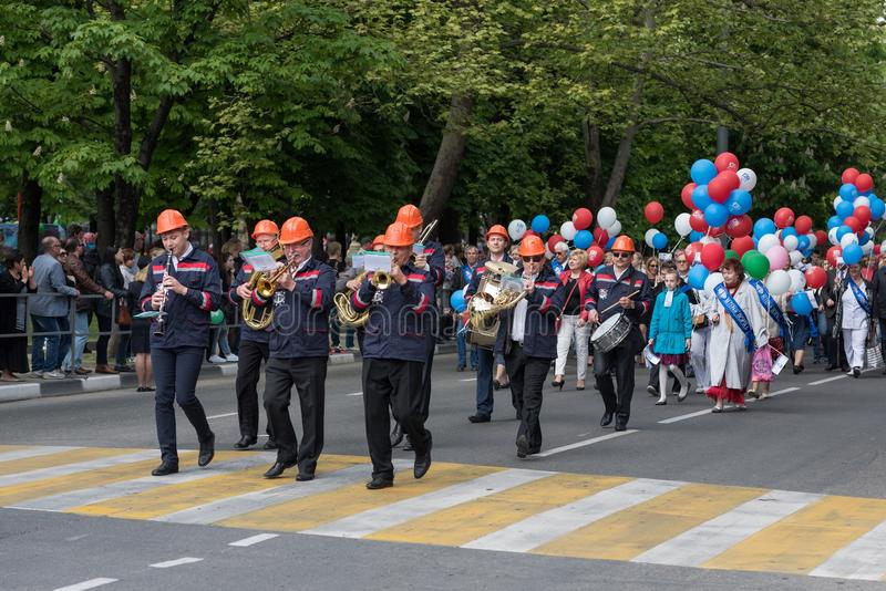 Crowd, Marching, Parade, Event royalty free stock photos