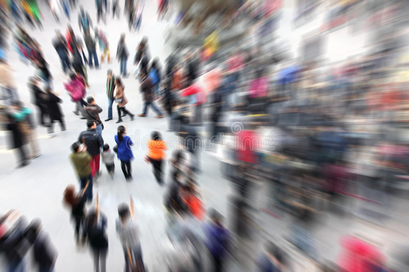Download Crowd People stock image. Image of hall, busy, meeting - 42392225