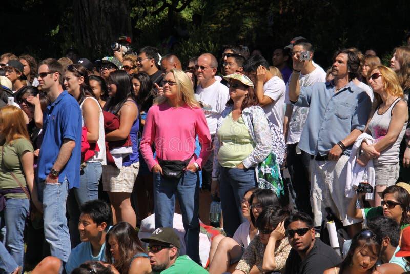 Download Crowd At San Francisco Concert Editorial Stock Image - Image: 14984629
