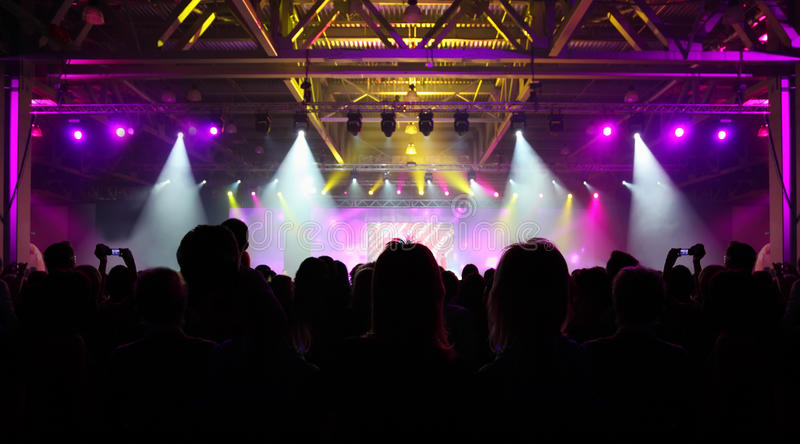 Download Crowd Of Spectators Having Fun At Party Stock Image - Image: 22261987
