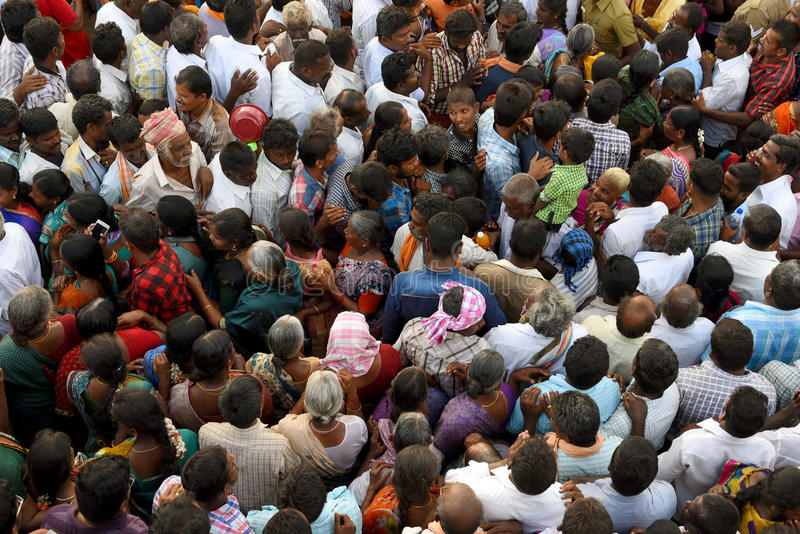 CROWD TEXTURE royalty free stock photography
