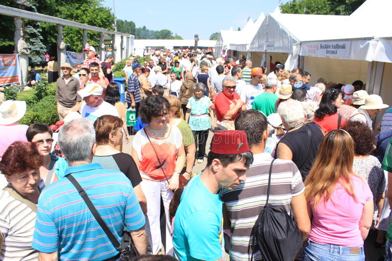 Download Crowd at turkish festival editorial stock photo. Image of stand - 31141663