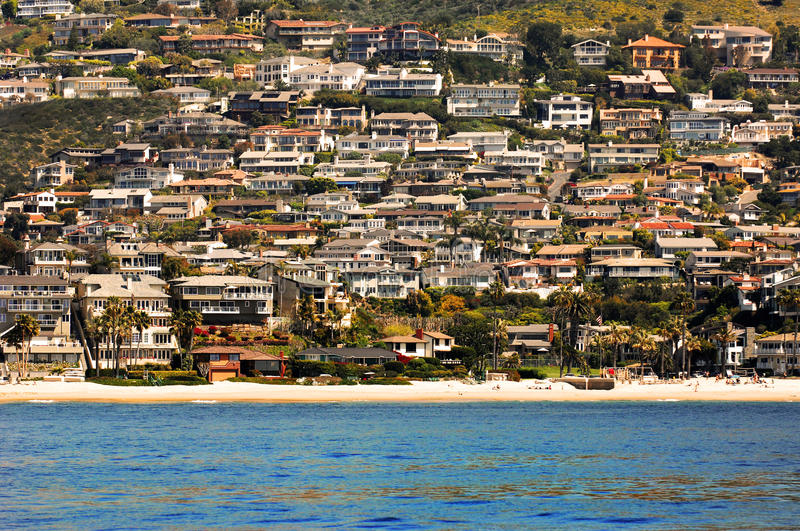 Download Crowded Beach Homes stock image. Image of crowded, lifestyle - 24189843