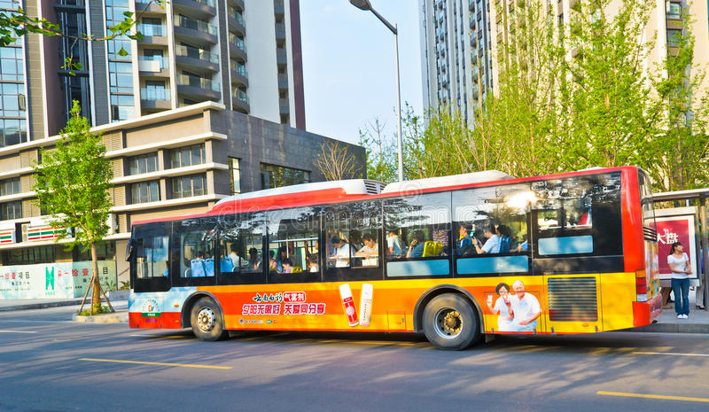 Download Crowded bus editorial stock photo. Image of transport - 20140333