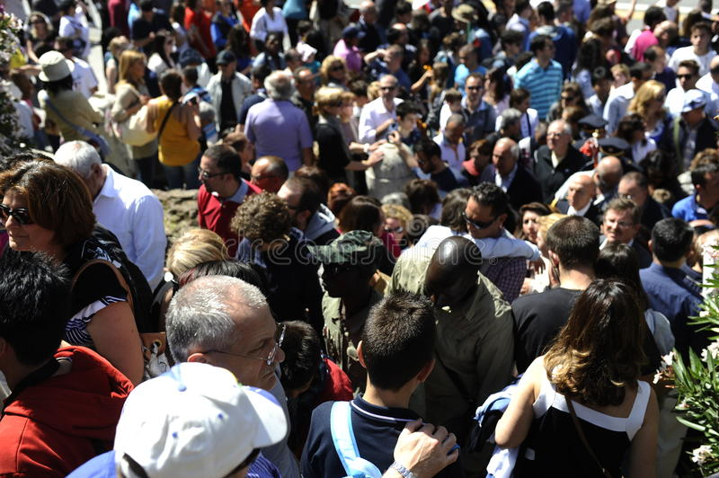 Download Crowded editorial stock image. Image of blur, conference - 31369994