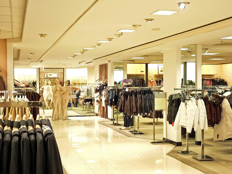 Crowded Shopping stock photography