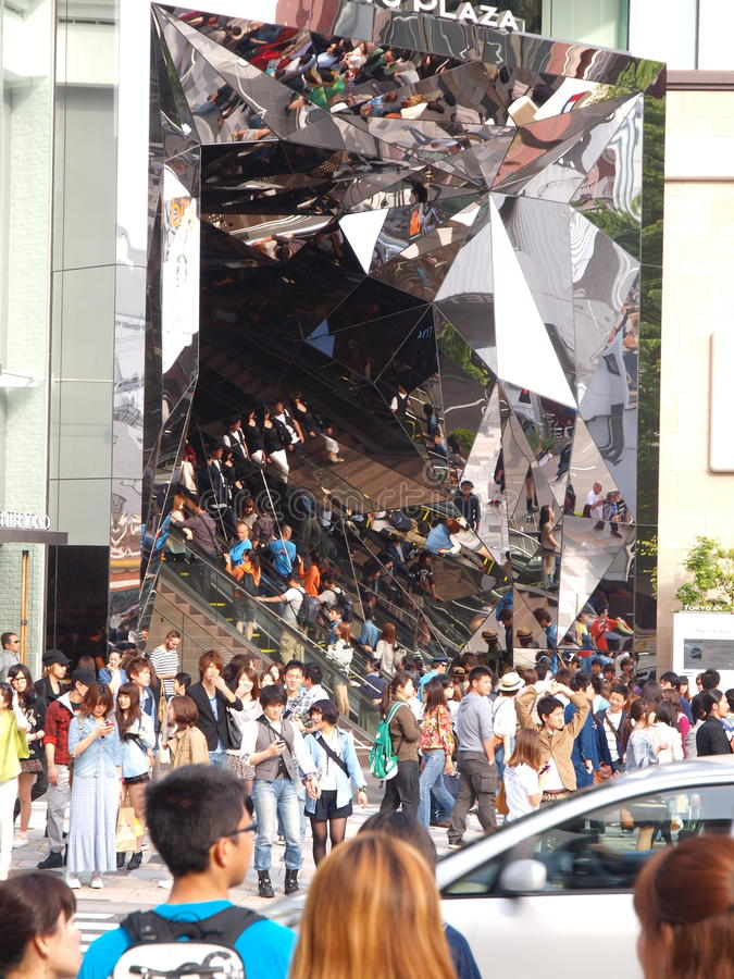 Download Crowded Tokyo editorial image. Image of shopping, japan - 85943605
