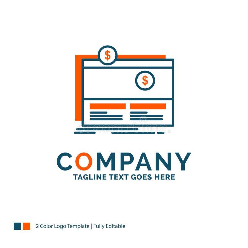 Crowdfunding, Finanzierung, beschaffend, Plattform, Website Logo Desig Mittel vektor abbildung