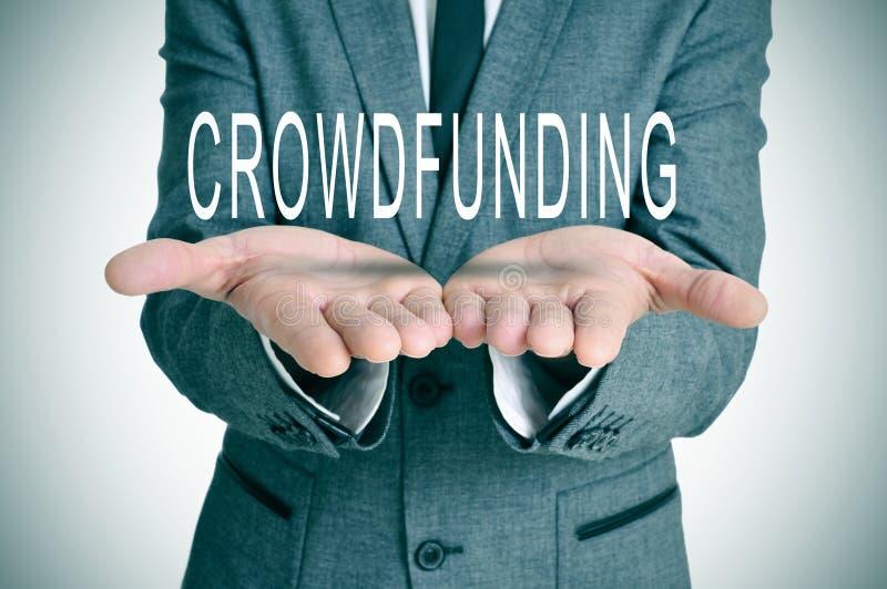 Crowdfunding stock image