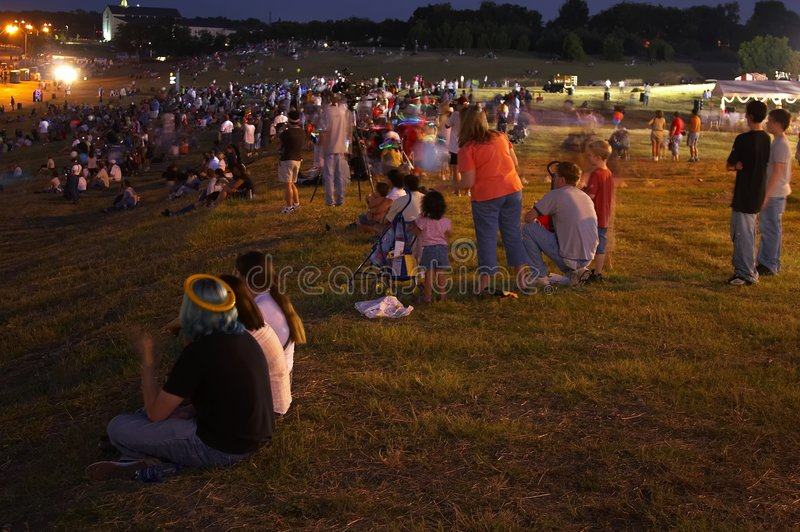 Crowds royalty free stock photo