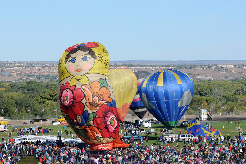Crowds at the International Balloon Fiesta