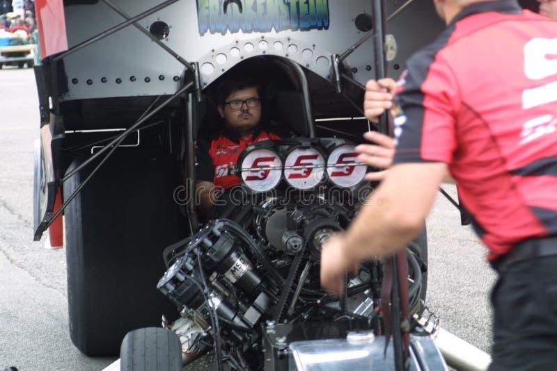 NHRA at Gateway Motorsports Park 2018 stock images