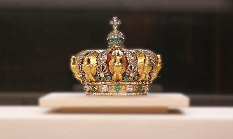 Crown royalty free stock photography