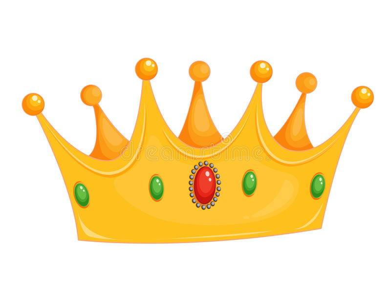 Download Crown stock vector. Image of emblem, decoration, sapphire - 24469407