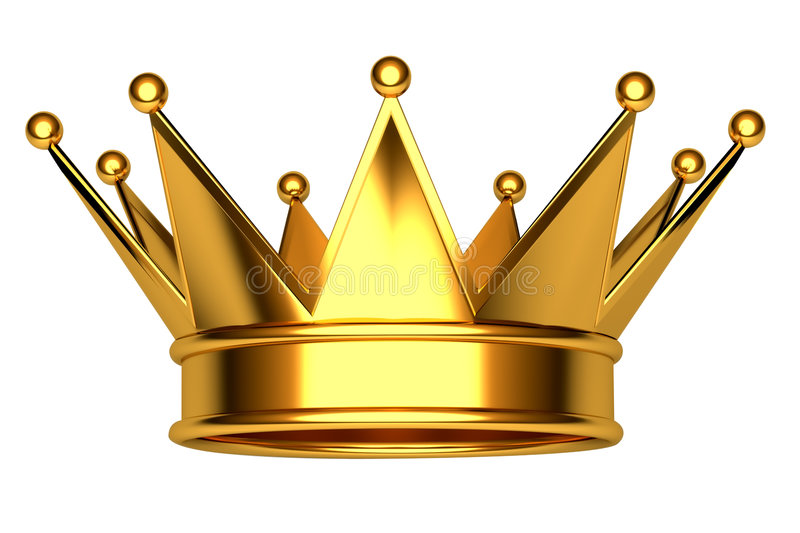 Crown. This is golden crown for a king