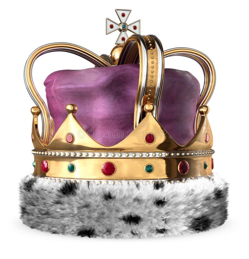 Download Crown stock illustration. Illustration of emrald, royal - 9420460