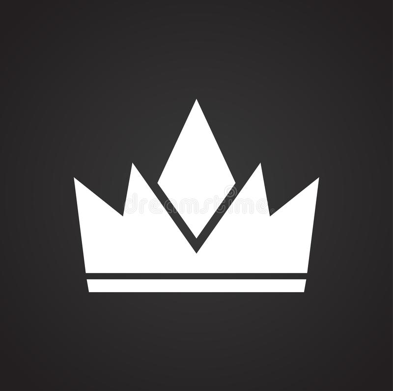 Crown On Black Background For Graphic And Web Design Modern Simple Vector Sign Internet Concept Trendy Symbol For Website Stock Vector Illustration Of Cartoon Coronation 132667270 Pin amazing png images that you like. dreamstime com