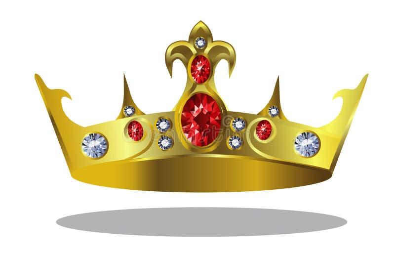 Download Crown stock vector. Image of diamond, radiance, kingdom - 34255580