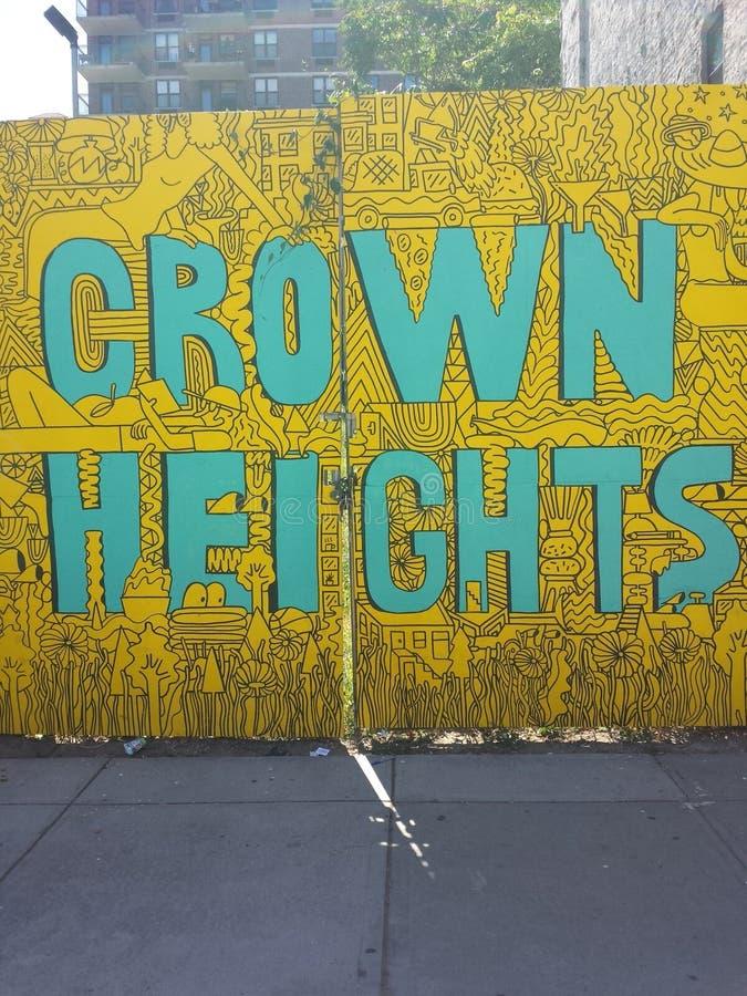 Crown Heights photo libre de droits