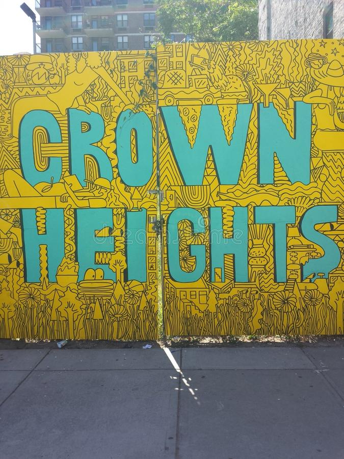 Crown Heights royalty free stock photo