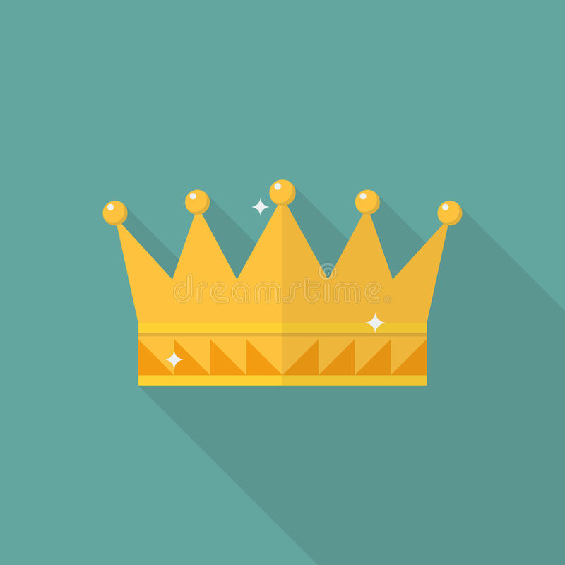 Free Crown Icon In Flat Style Stock Photos - 90266563