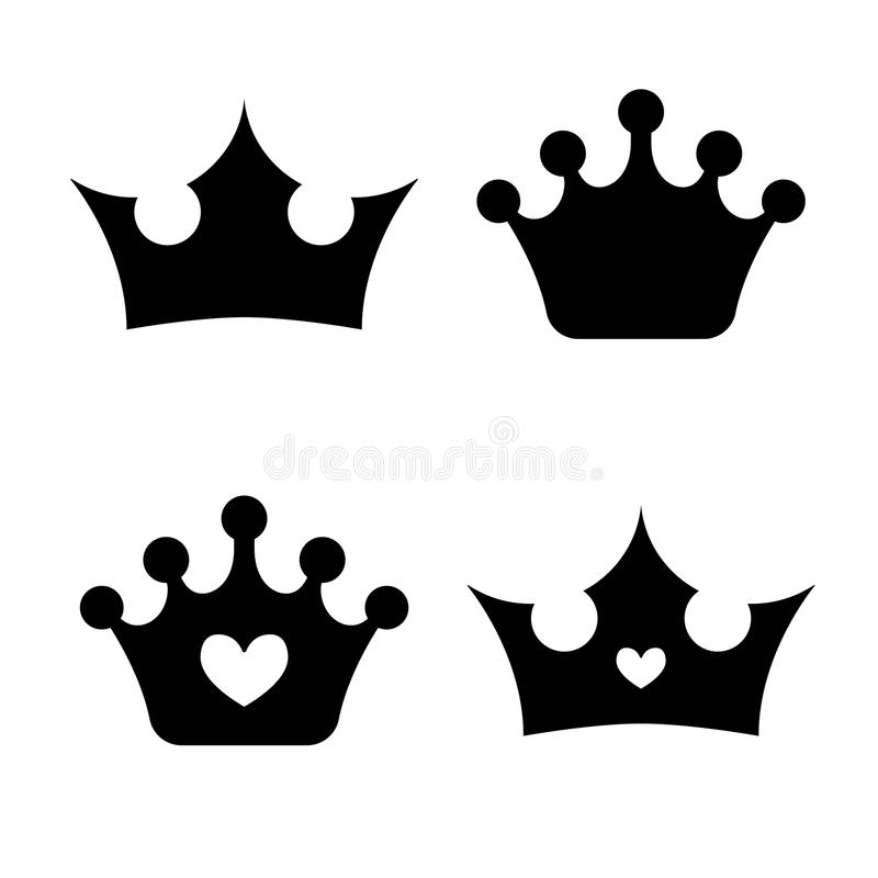 crown icons princess crown vector illustration flat style stock rh dreamstime com princess crown vector free princess crown vector image
