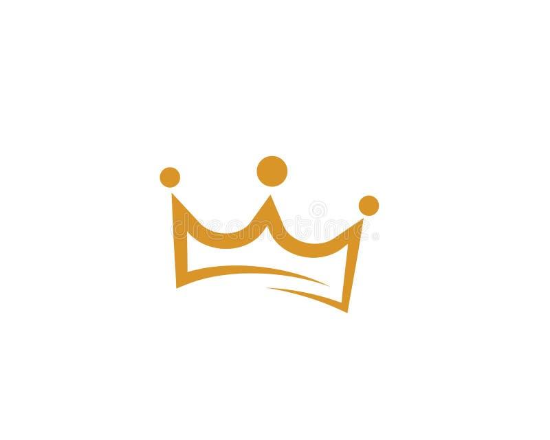 Crown Logo Template vector icon vector illustration