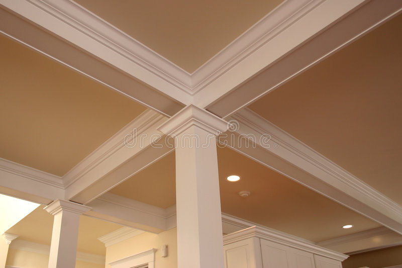 Crown molding royalty free stock photography