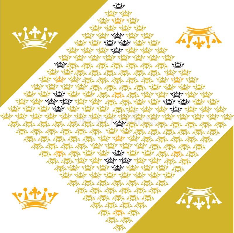 Download Crown motif stock vector. Image of court, princess, colors - 7256599