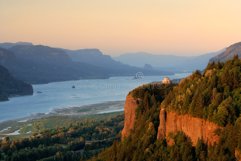 Download Crown Point, Oregon stock photo. Image of area, river - 1143018