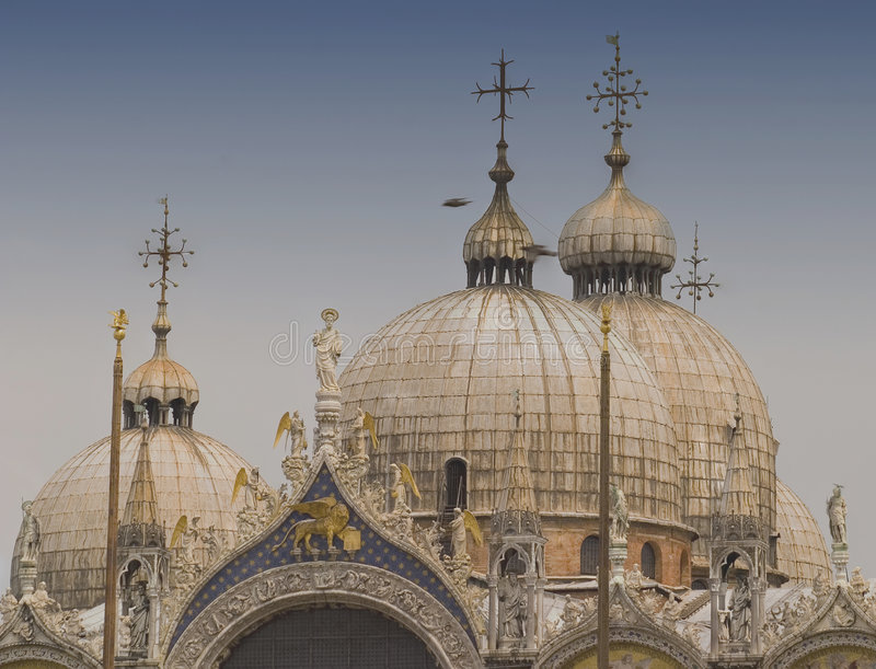 Crown of San Marco stock image