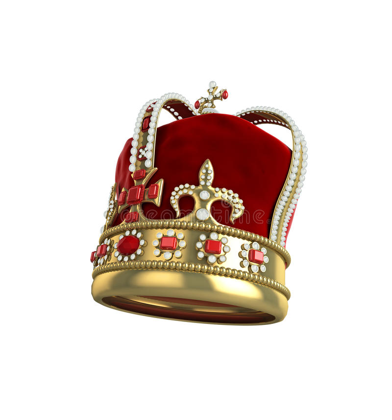 Crown Side View Royalty Free Stock Photos