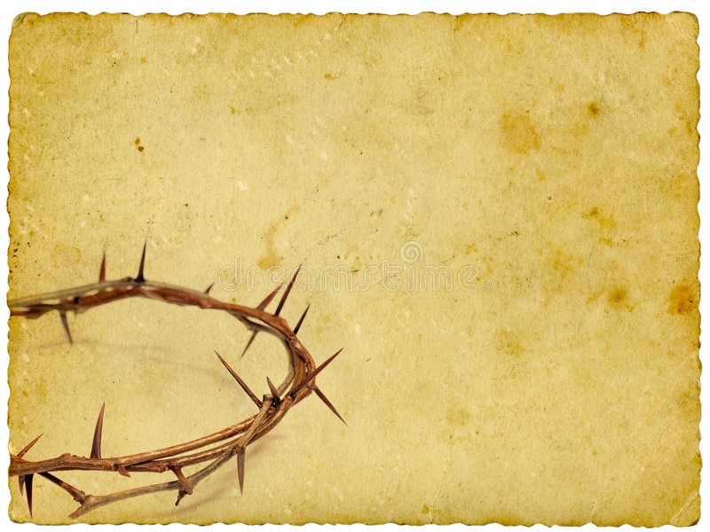 Download Crown of thorns stock image. Image of christ, layer, antique - 4324133
