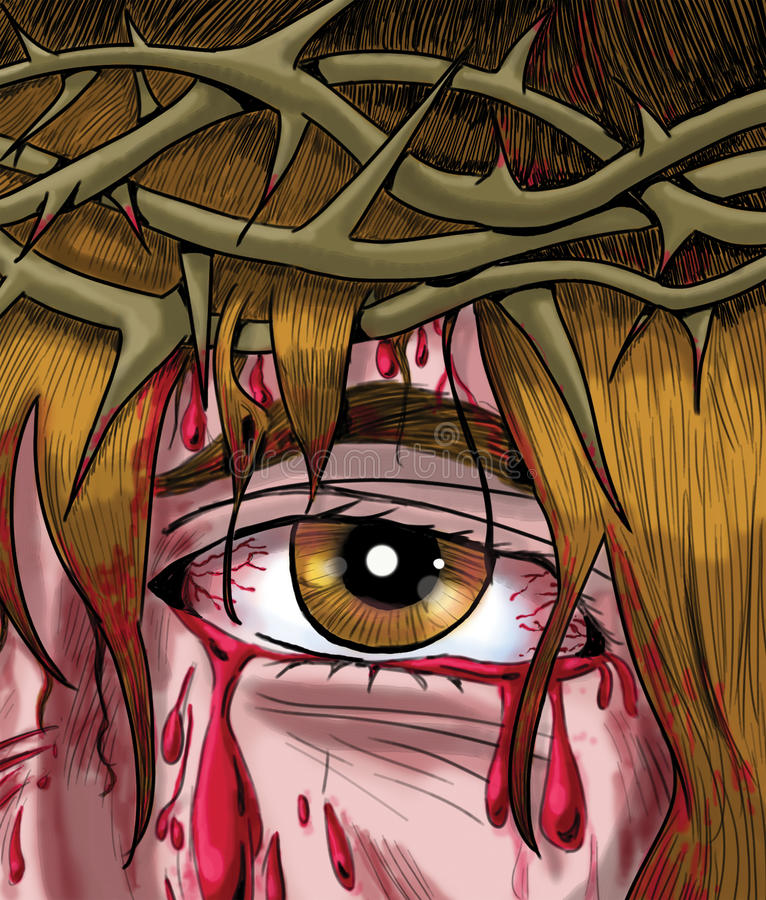 The Crown of Thorns stock photography