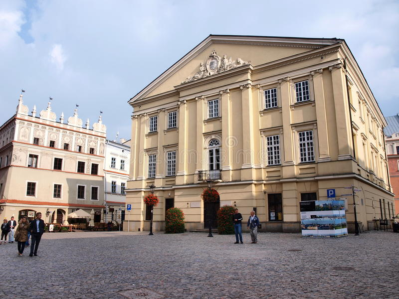 Crown Tribunal, Lublin, Poland stock images