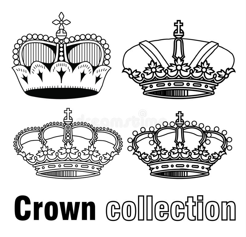 Free Crown, Vector Hand Drawn Vector Royalty Free Stock Photo - 52786855