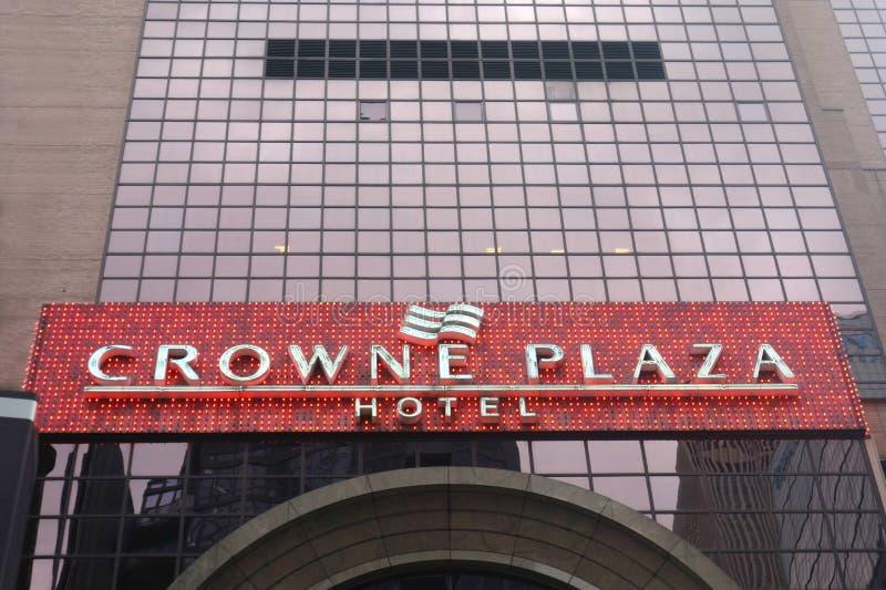 Crowne广场饭店 免版税库存图片