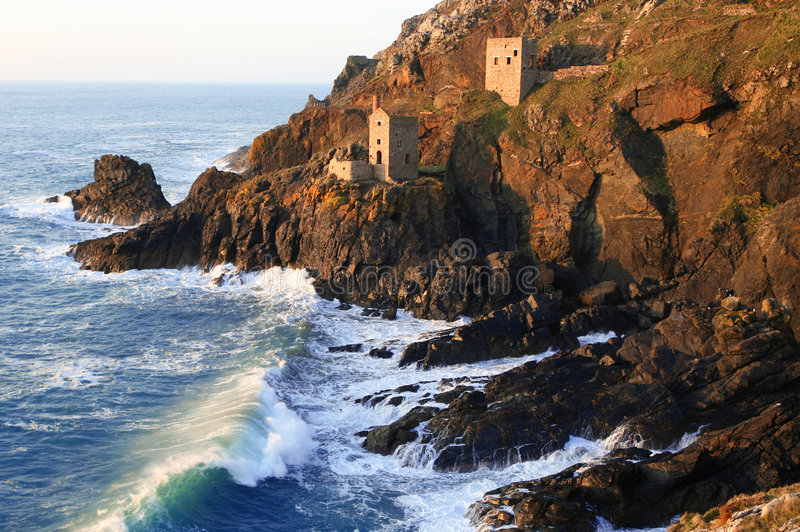 Download The Crowns stock image. Image of mine, cornish, craggy - 2145903