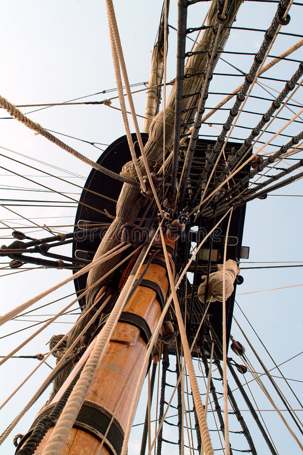 Download Crows nest stock image. Image of boats, tower, crows, sailing - 11027